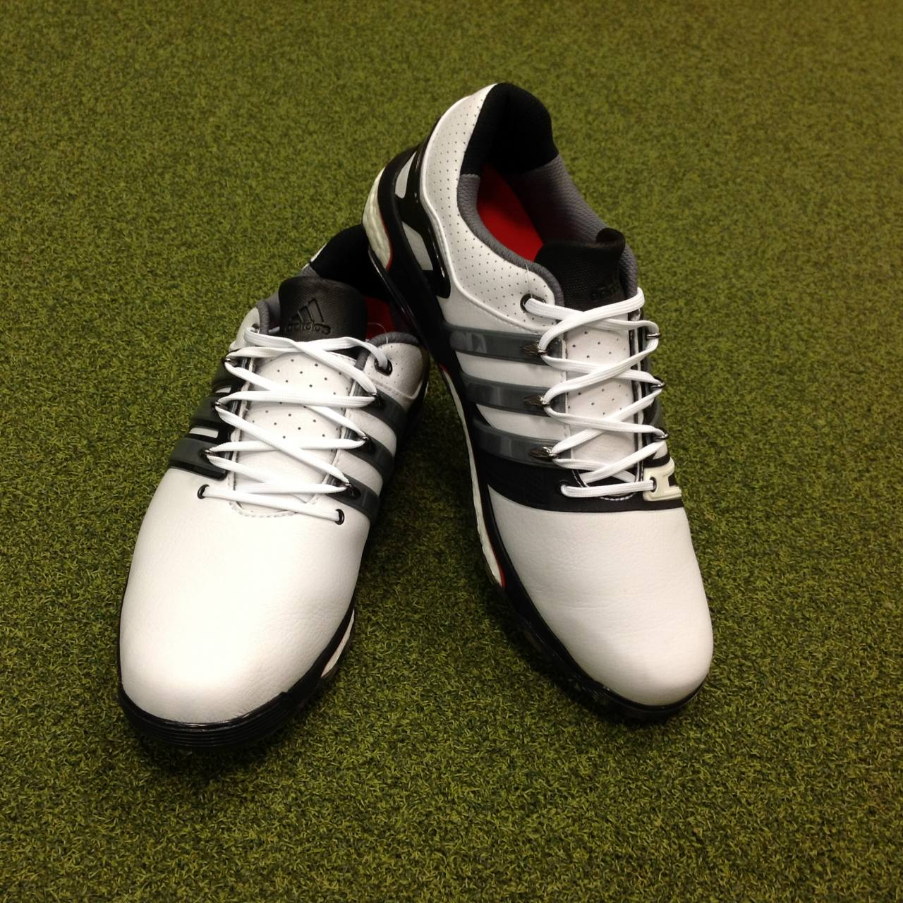 new concept 4acdb c54dd Details about NEW Adidas Asym Energy Boost Golf Shoes - UK Size 8.5 - US 9  - EU 42 23