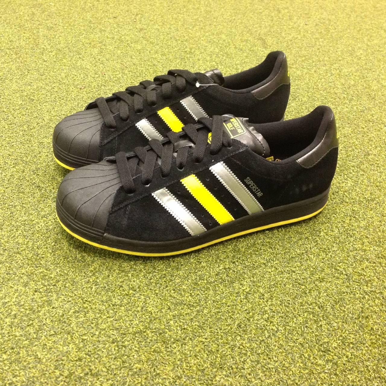 new adidas superstar golf shoes uk size 8 5 us 9 eu. Black Bedroom Furniture Sets. Home Design Ideas