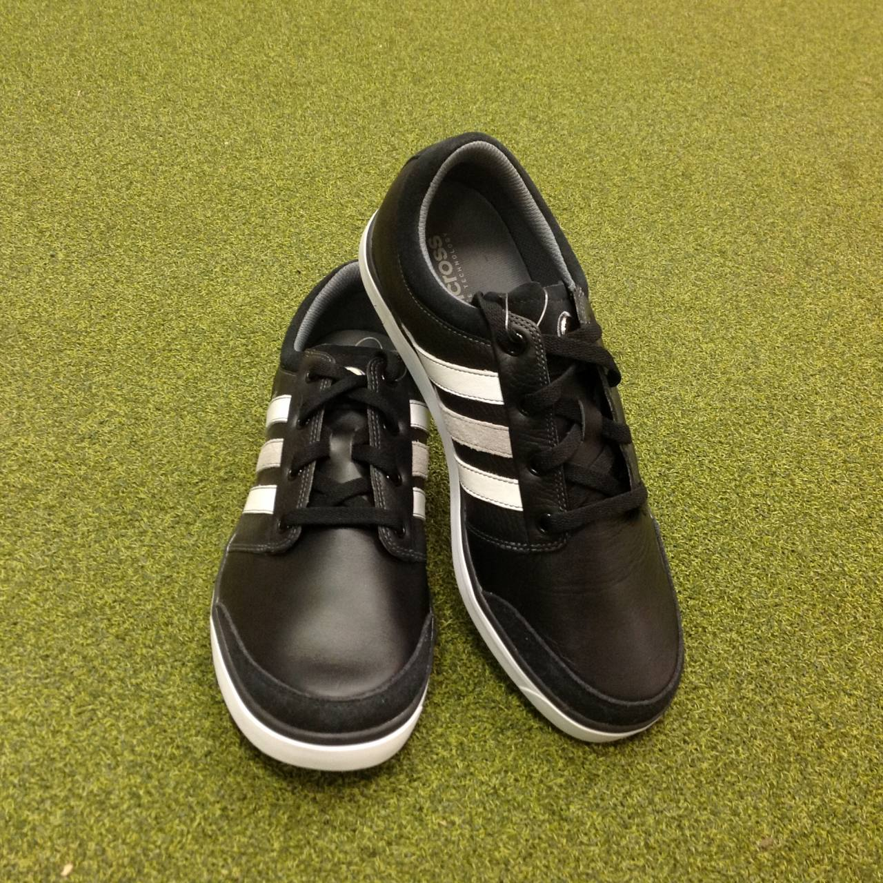 bdcb1d15c5b1ff Details about NEW Adidas Adicross Gripmore Leather Golf Shoes - UK Size 8.5  - US 9 - EU 42 2/3