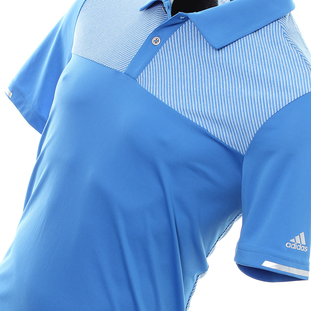018753b3b5c Adidas Golf ClimaChill Heather Block Polo Shirt – Choose Size – Pro Golf  Products Ltd