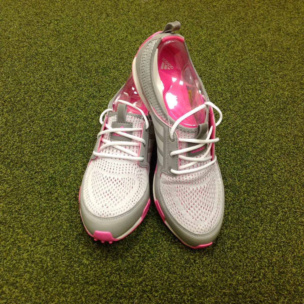 b7f0663bc9428 Details about NEW Ladies Adidas Climacool Ballerina II Golf Shoes - UK Size  5.5 - US 7.5 - .