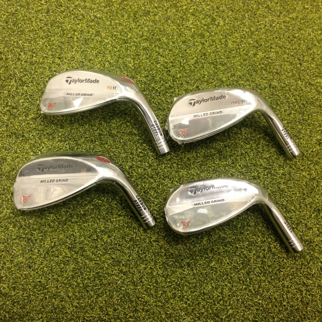 Tour Issue 2018 Taylormade Milled Grind Chrome Wedges