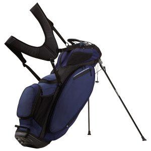 Taylormade 2019 Litetech Waterproof Golf Bag Black White