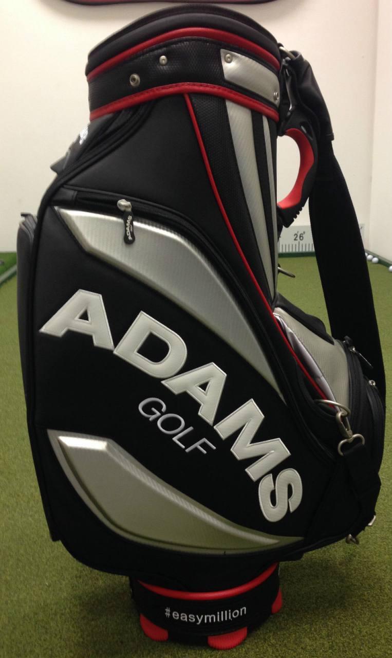 Official Tom Watson Signed Easy Million Adams Golf Tour Staff Bag Ebay